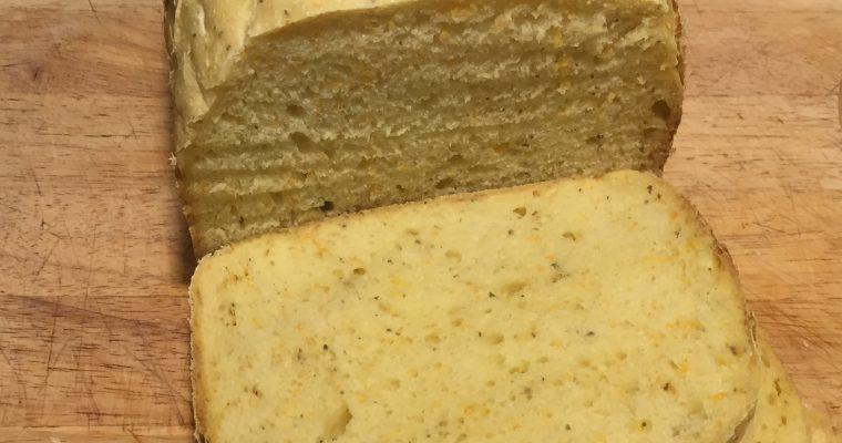 PKU brød med gulerod, til bagemaskine