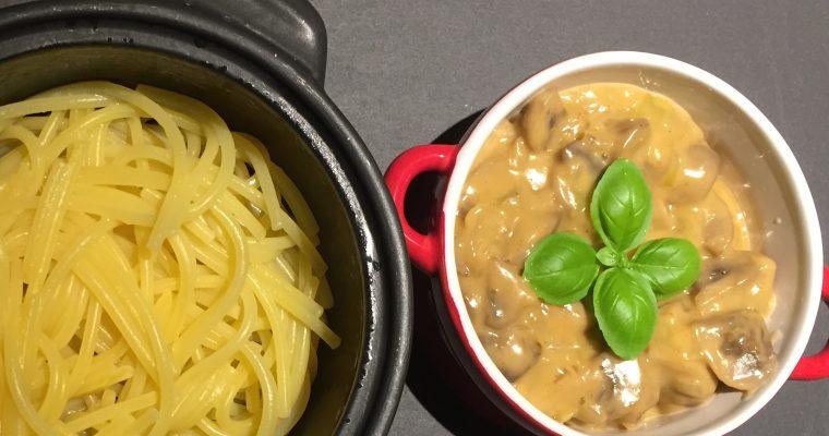 Cremet champignon pastasauce