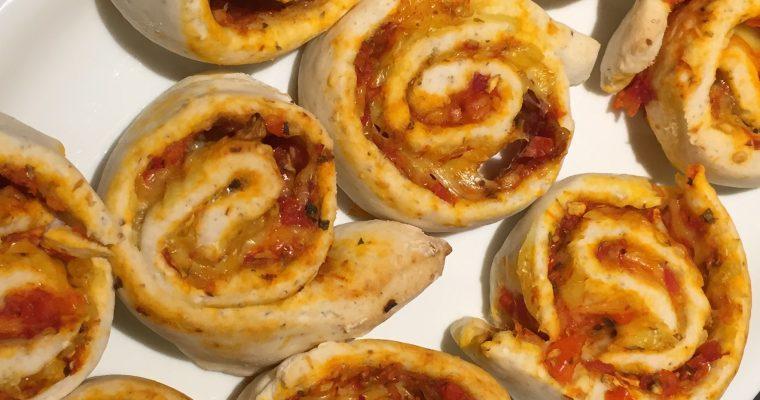 Lækre pizzasnegle, 9-10 stk.