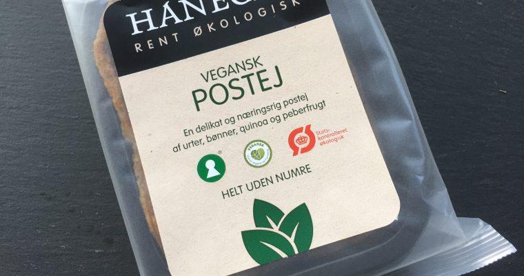 Vegansk postej fra Hanegal