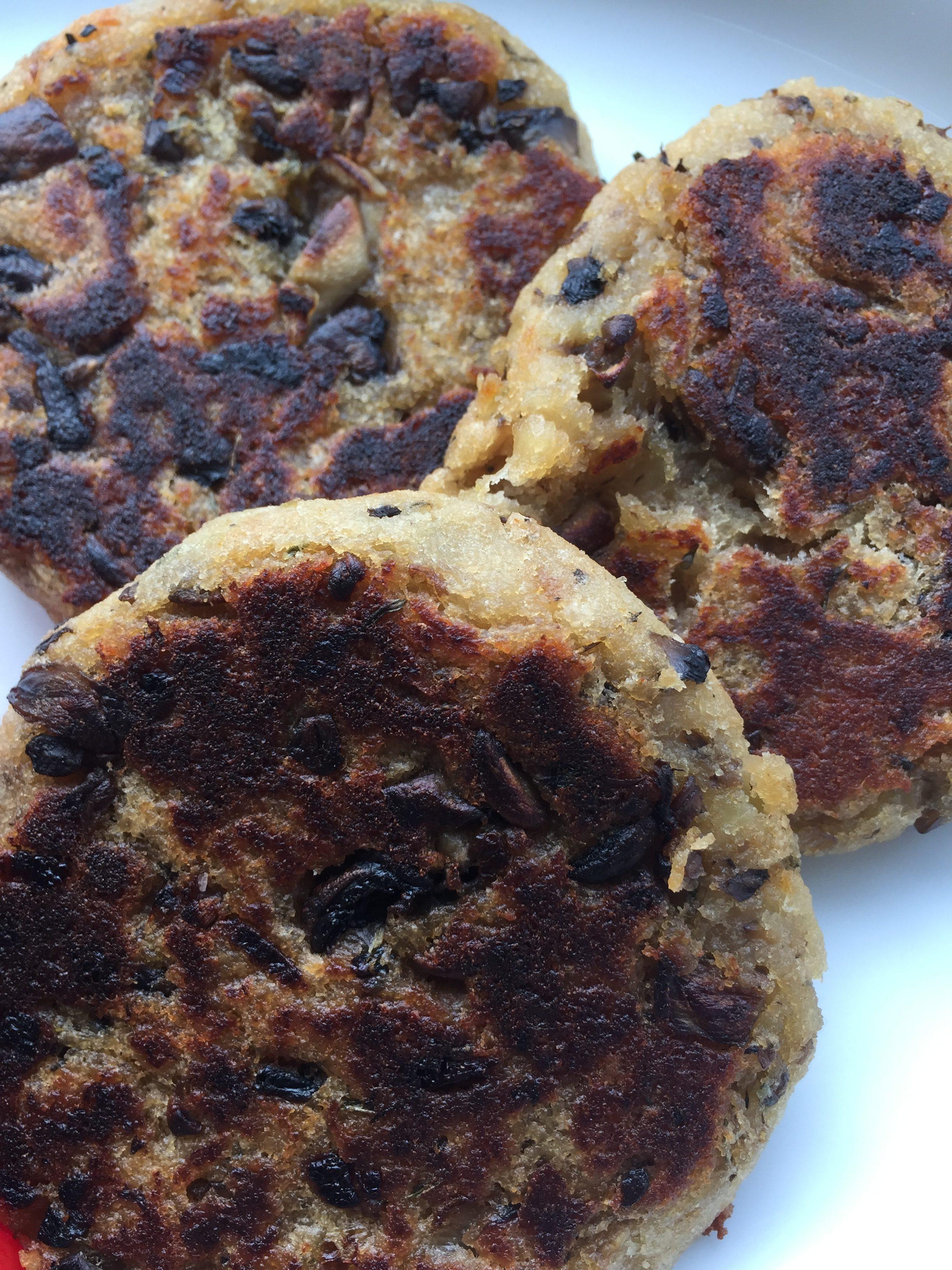 Champignon bøffer, 3 stk.