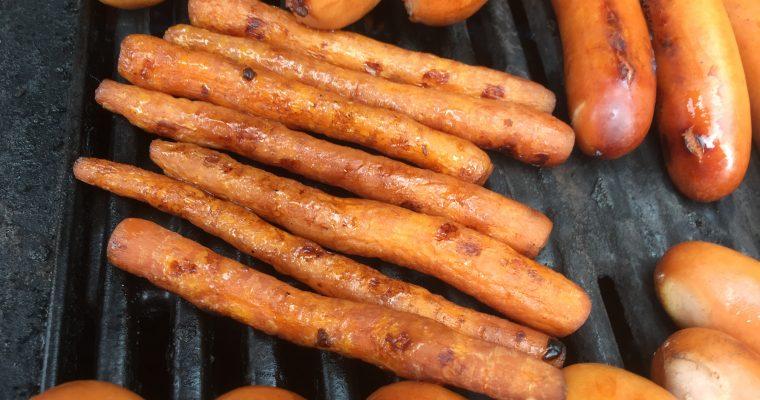 En anden gulerodspølse variant