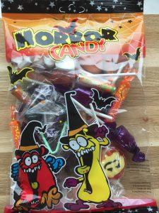 Halloween slik