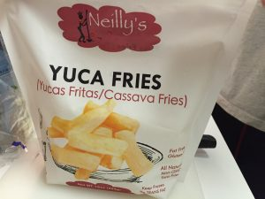 Frosne Yuca fries