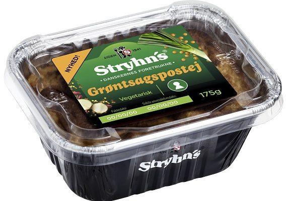 Grøntsagspostej fra Stryhns