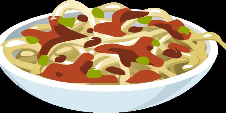Lavprotein spaghetti Carbonara